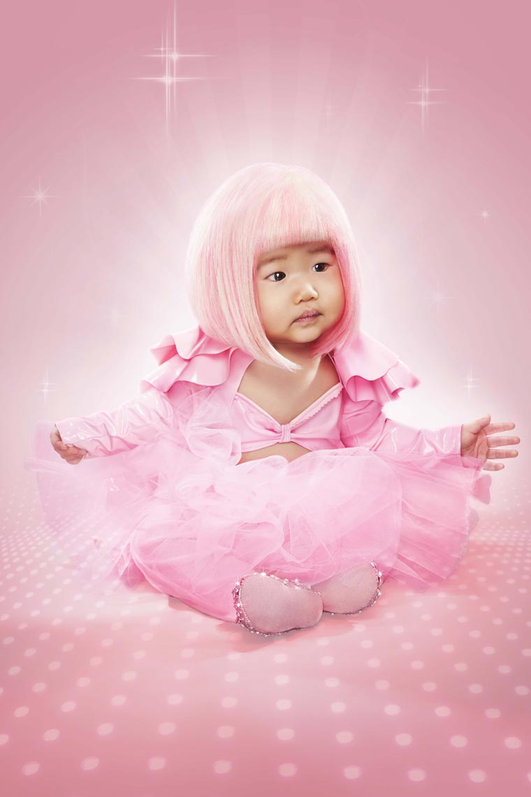 Annabelle as Nicki Minaj-Howard-Huang-Kids