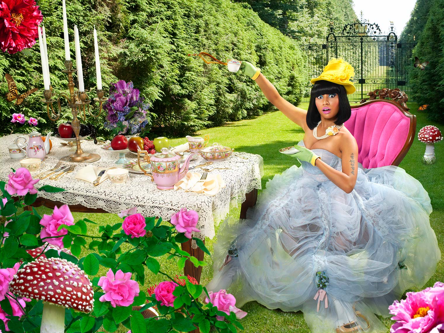 Howard-Huang-NIcki-Minaj-Tea-Party-Wonderland